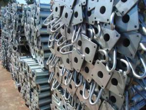 steel props of B