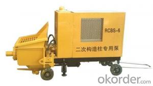 Concrete Pump  Electric motor RCBS-6