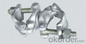 Scaffolding swivel clamp connectors clamps american type
