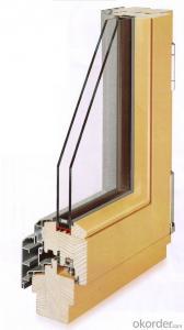 Australia Standard Aluminum Clad Cood Windows