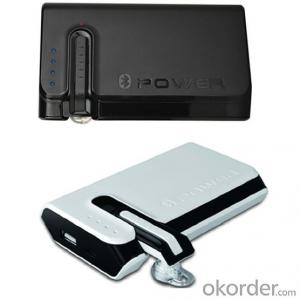 Newest Arrival Mobile Power Bank 7800mAh with Bluetooth Earphone