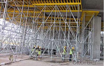 Ring-lock scaffolding accessories for building construction