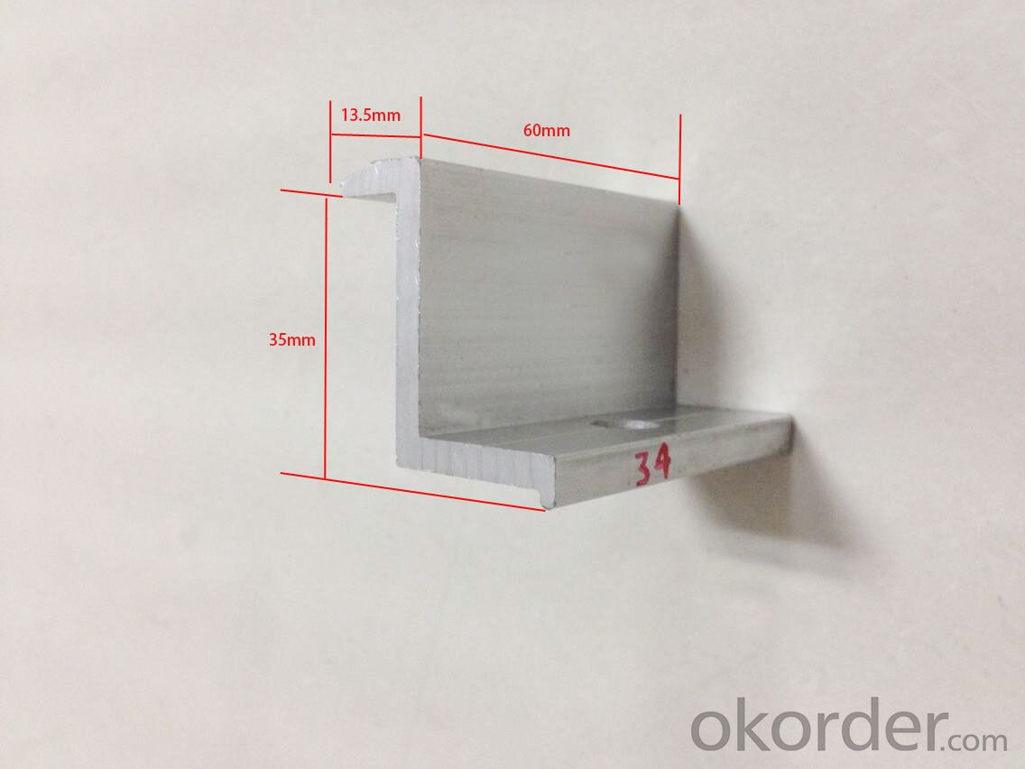 Solar mounting bracket End clamp Z35-13.5
