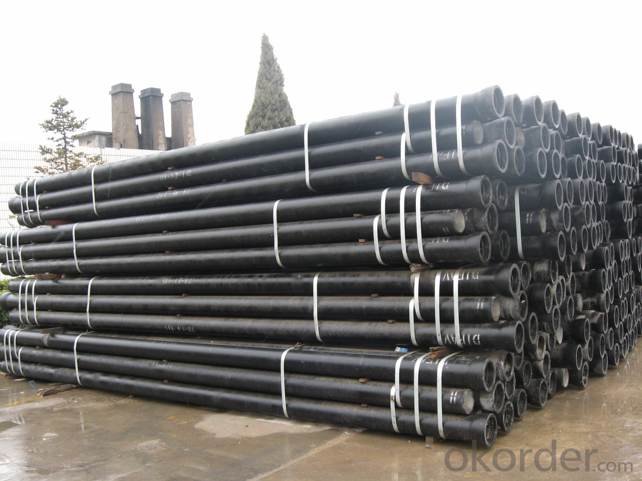 DUCTILE IRON PIPE DN800 K9