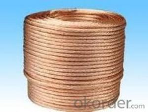 bare copper clad steel wire construction