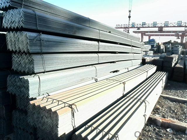 Equal steel angle bar