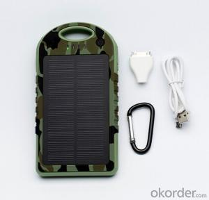 Sport Design Waterproof Solar Power bank