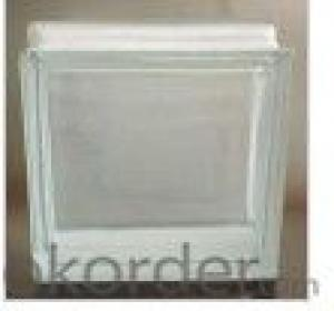 Brown Clear Glass Block