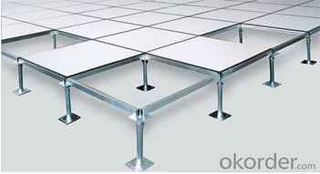 Raised conductive Floor with PVC finish