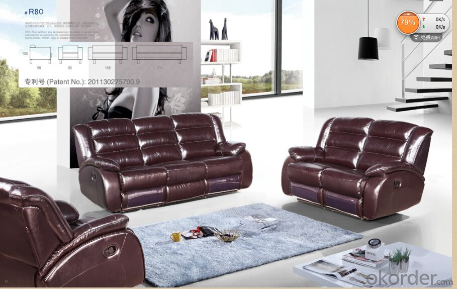 Modern recliner sofa 1+2+3 sets electric recliner