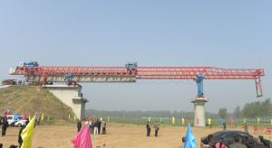 High-efficient Whole Span Segment Launching Gantry