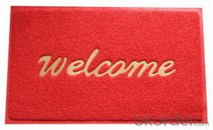 Promotion door welcome mat
