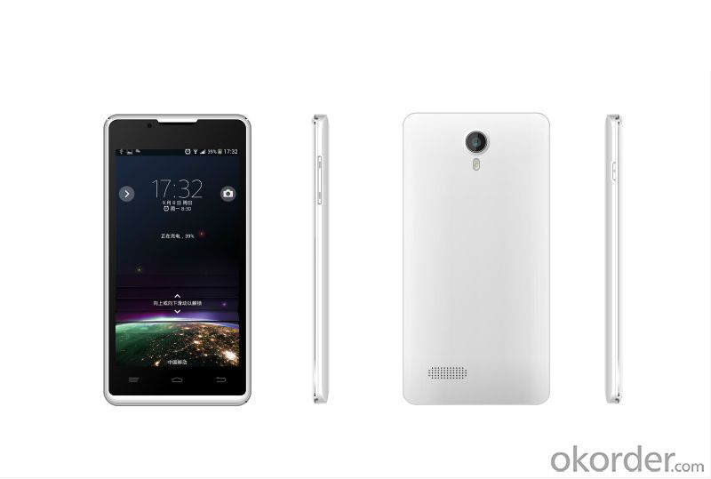 Qual core CPU 4.5 inch Android 4.4 Smartphone with IPS Screen