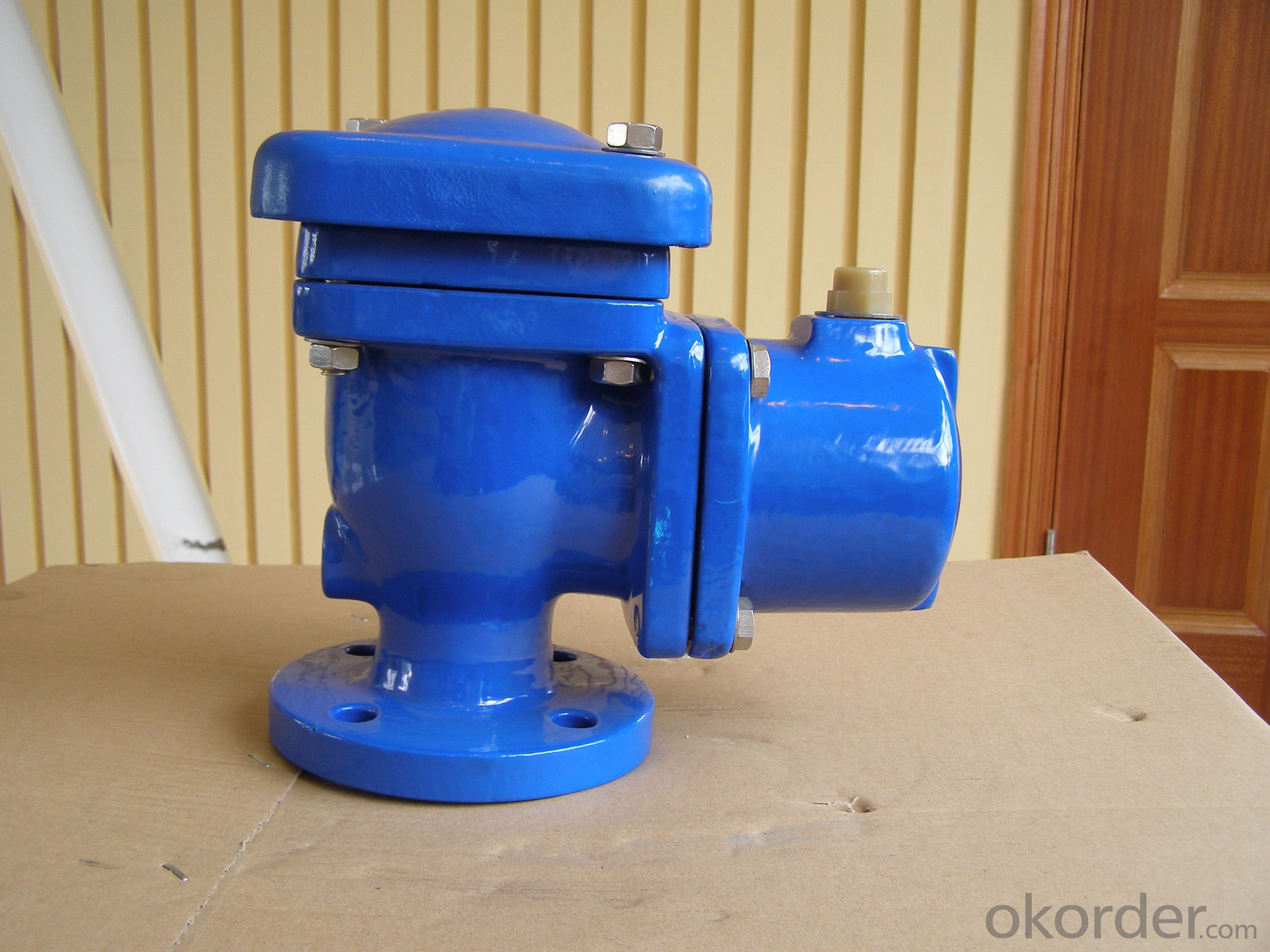 Ductile Iron Single Orifice Air Valve