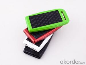 Solar Phone Charger 1200mah Mini and Multiple Functions