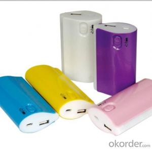 Hot Sell Nice Design Power Bank, Portable Mobile Power Supply 5200mAh Power Bank