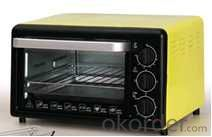 Electric Oven with 4 stainless steel heating elements