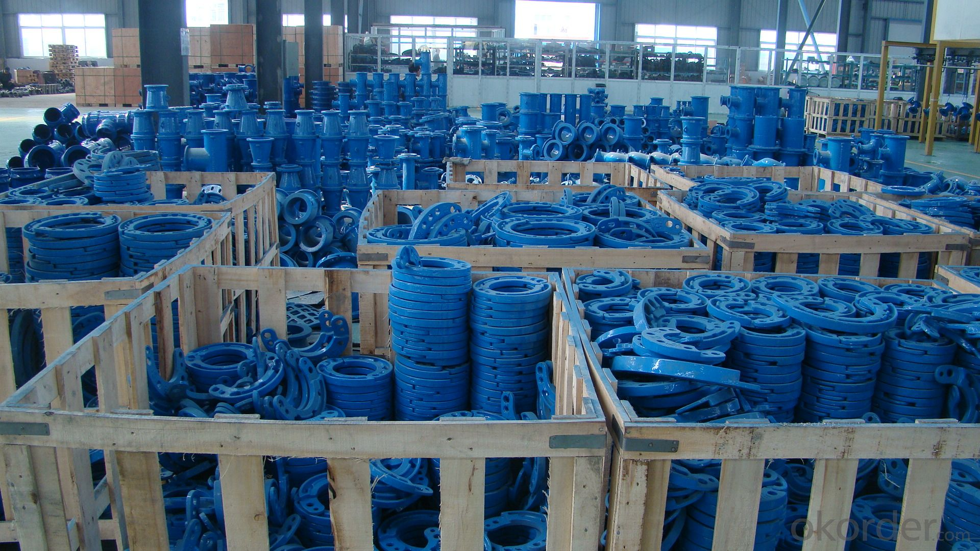 Ductile Iron Pipe Fitting  All Socket Tee ISO2531