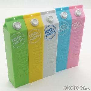 Portable Milk Design Power Bank for Mobile Phone