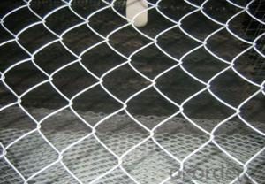 Galvanized Steel Chain Link Fabric in Different Gauges