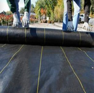 weed mat for earth work