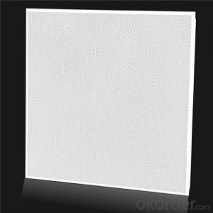 High quality lay in aluminum ceiling tiles
