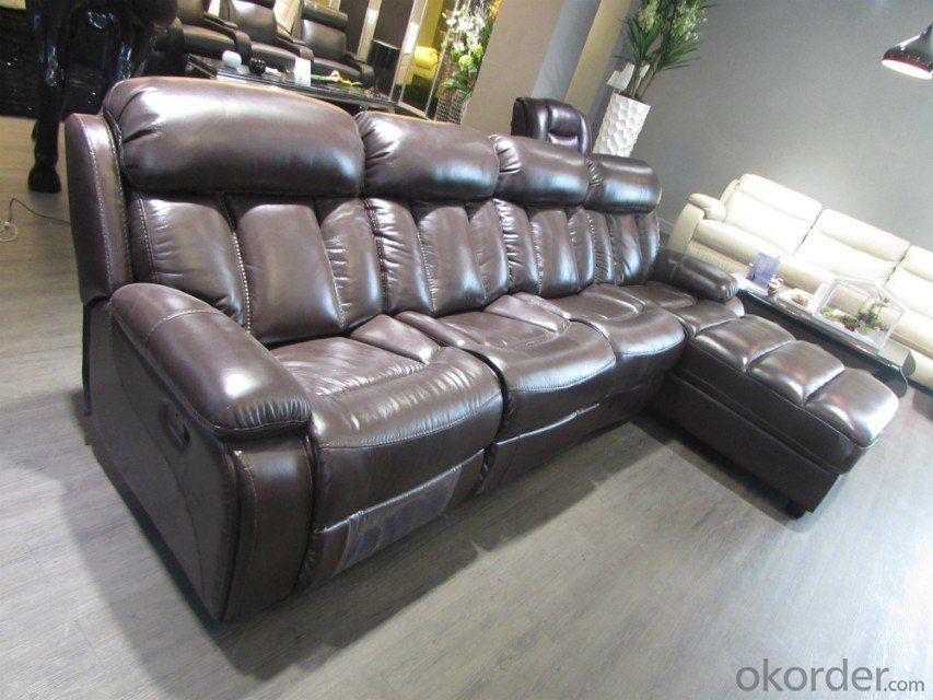 Modern recliner electric sofa 6 sester