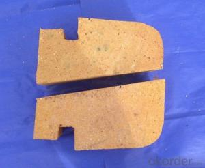 Hot blast stove refractory brick