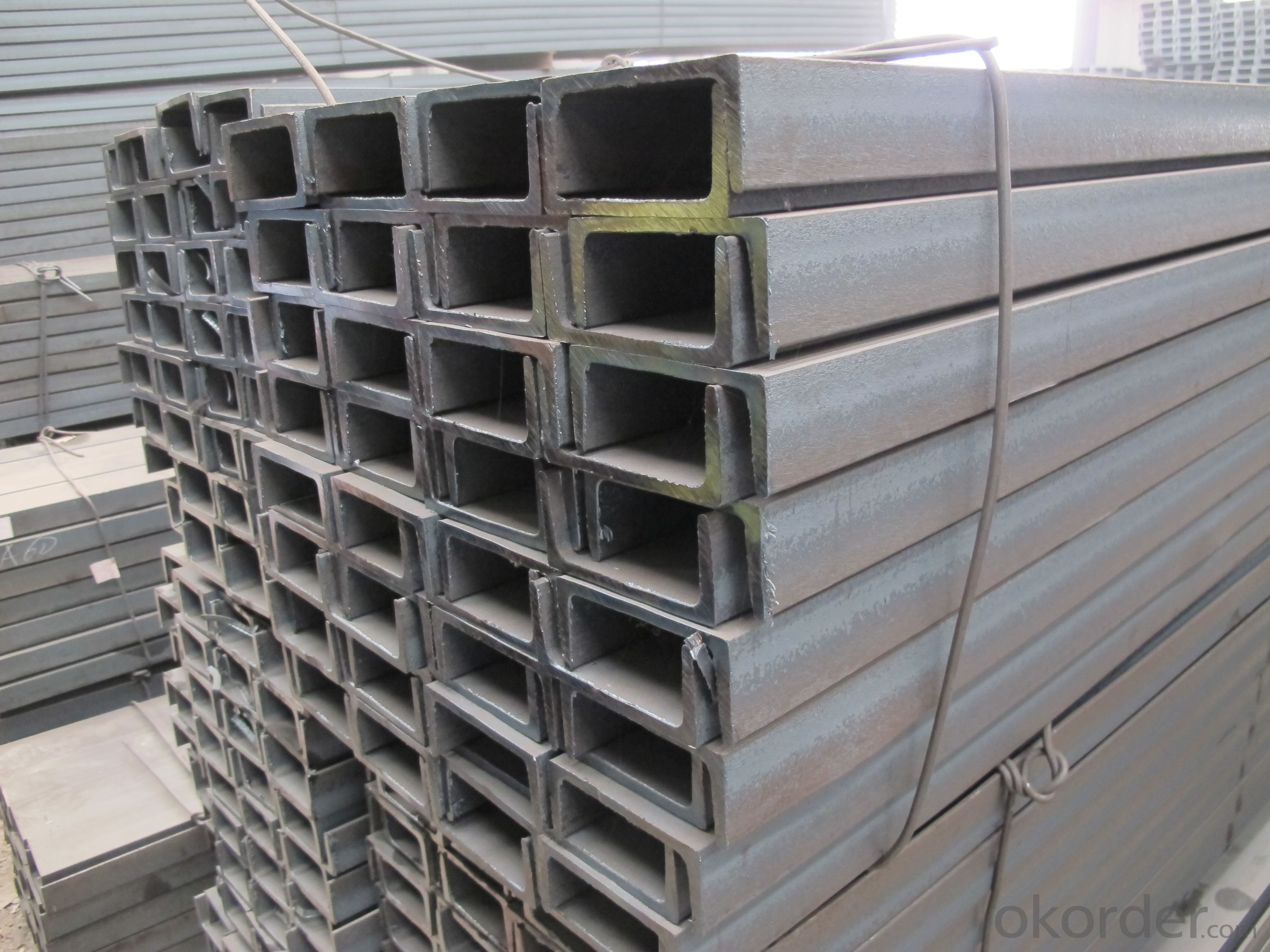 GB Standard Steel U Channels of High Quality for Warehouses