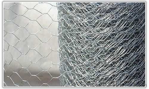 Galvanized Hexagonal Wire Mesh 0.48 mm Gauge