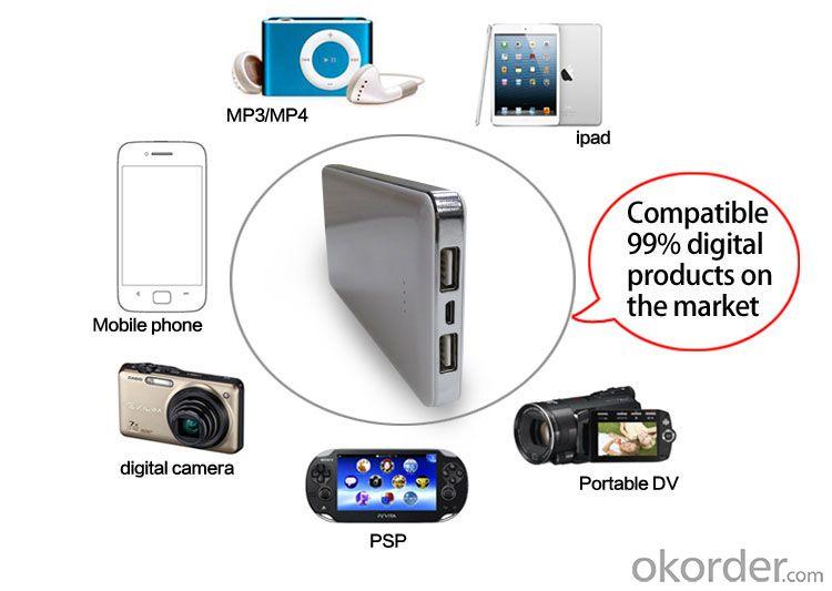 Super fast charge 13000mah portable mobile power bank portable powerbank