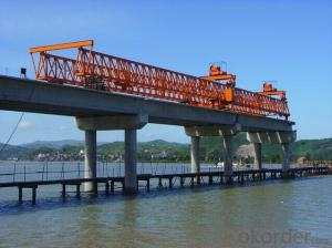 Safty Whole Span Segment Launching Gantry