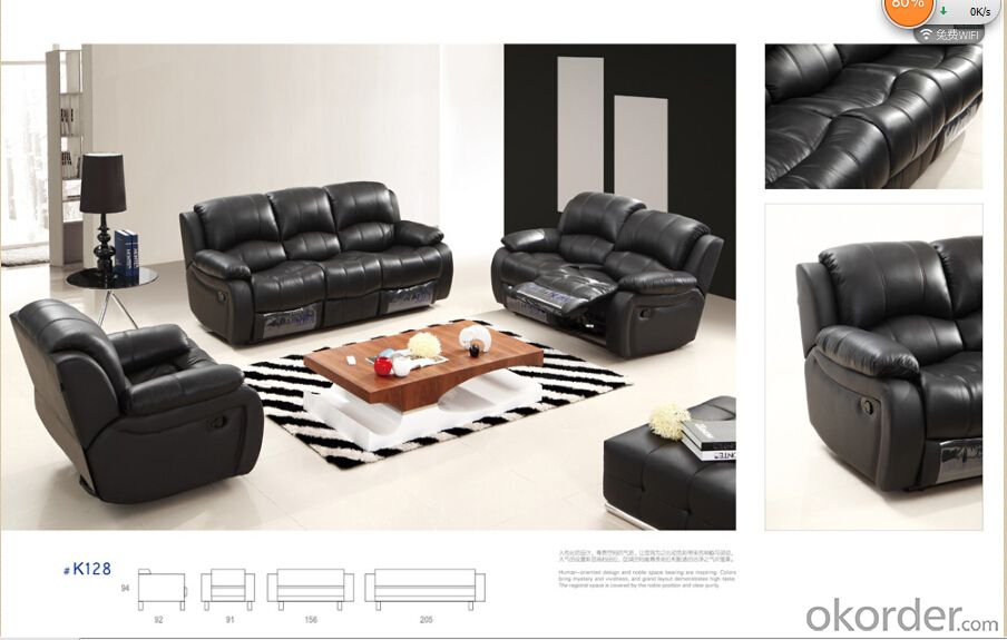 Modern recliner sofa 5 pcs recliners