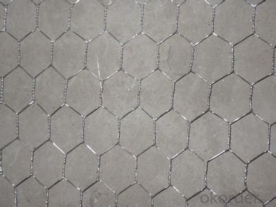 Galvanized Hexagonal Wire Mesh 0.4 mm Gauge