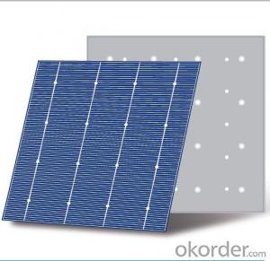 Polycrystal solar Cell JAC P6WR-0 (MWT )