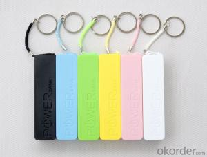 Portable Mobile Phone Accessories 2600mAh Power Bank