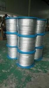 hot-dip/electro-galvanized/ungalvanized wire rope