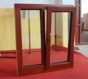 Solid Wood Double Glazed Windows Manufactory