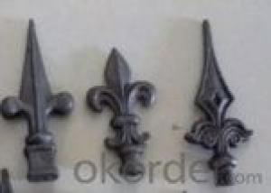 Various Ornamental Cast Iron/ Wrought Iron Spearpoint For Gate, Fence Wholesale