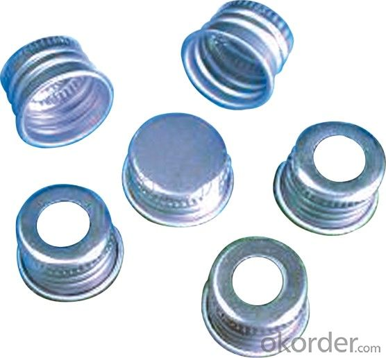 Aluminum Strip for Pharmaceutical Bottle Cap