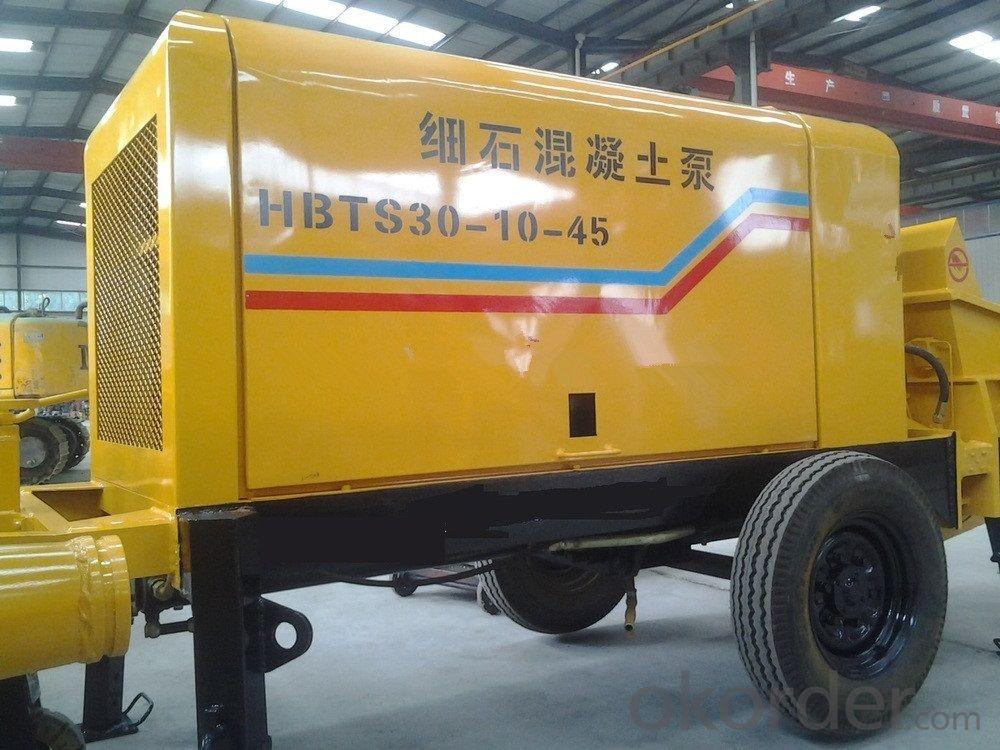 Mortar Concrete pump HBTS30-10-45