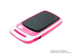 Solar Phone Chargers 1500mah Mini and Portable for Iphone