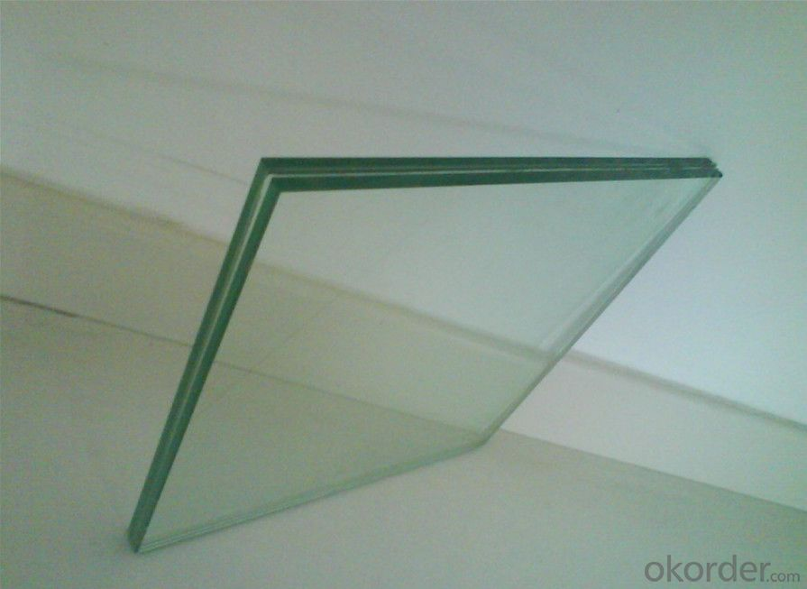 Clear Laminated Glass 6.38mm for Construction, Internal Decoration, Furniture