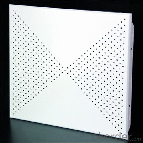 High-Quality Perforated Lay in Aluminium Ceiling
