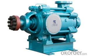 MD-D series coal mine with wear-resisting centrifugal pump