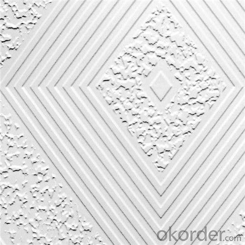 Gypsum Ceiling Tiles 8mm Texture 574