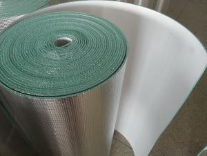 aluminum foil XPE foam heat insulation material