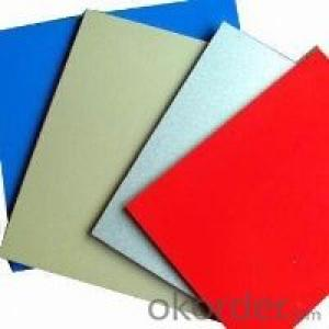 Aluminum sheet for prepainted