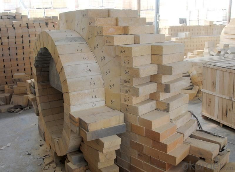 High alumina refractories brick