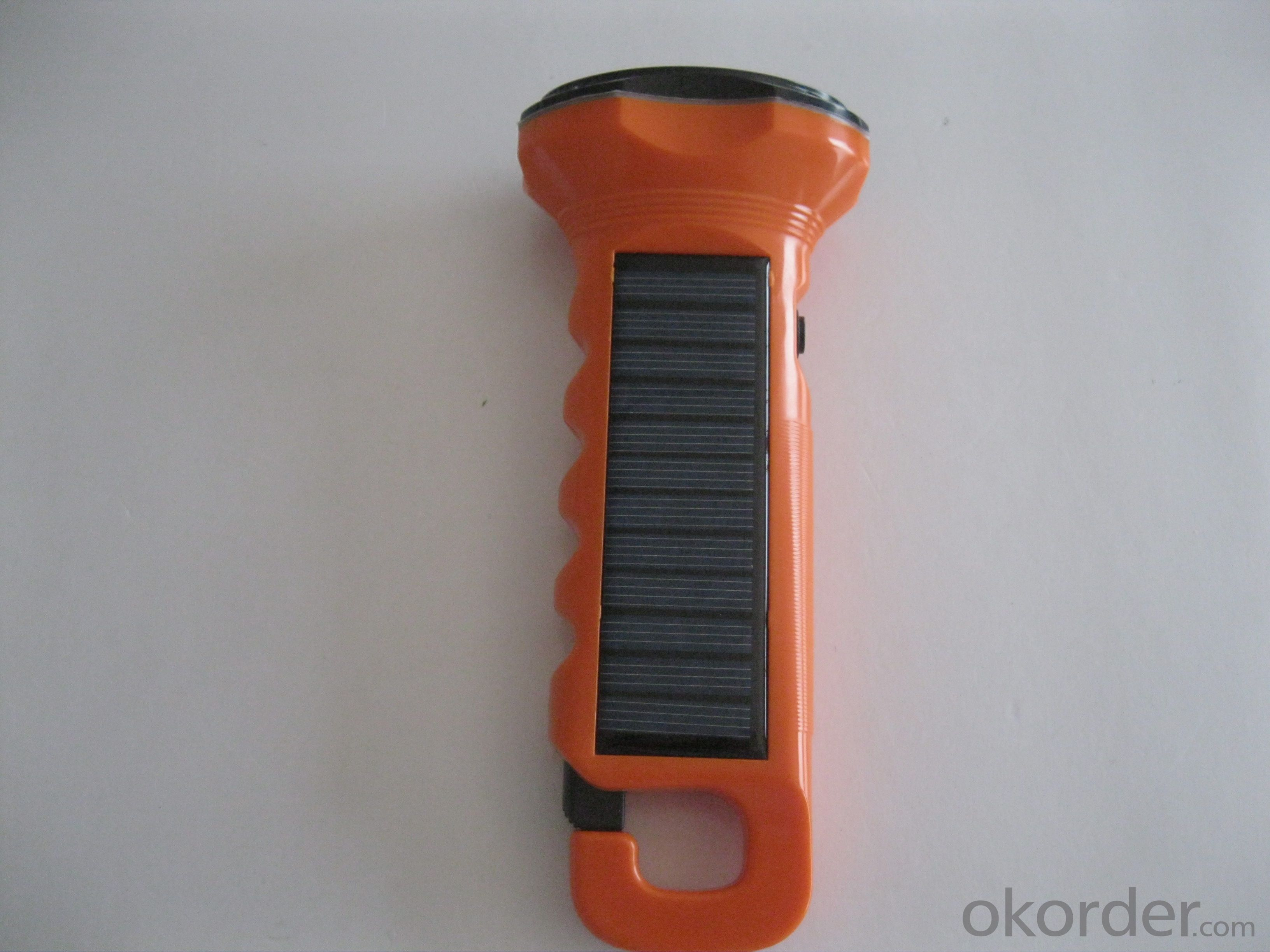 Solar Flashlight Solar Powered Flashlight